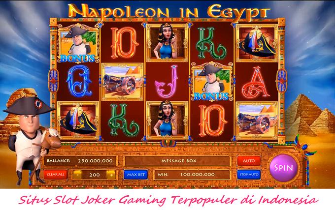 Situs Slot Joker Gaming Terpopuler di Indonesia